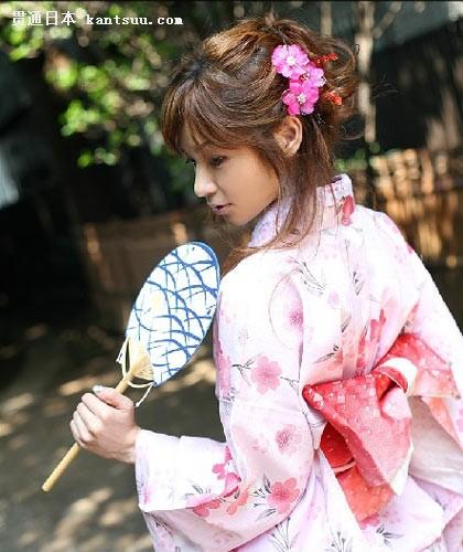 日本美女和服里的秘密――贯通日本文化频道