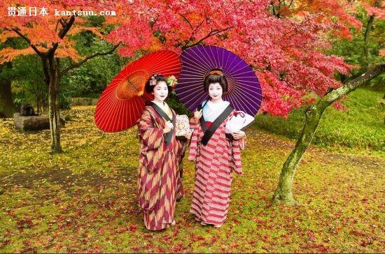 唯美温婉的日本艺妓浮世掠影