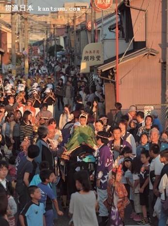 日本关西秋祭