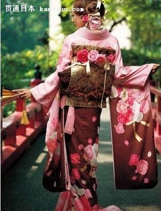 和服:日本新娘最基本的装扮之一