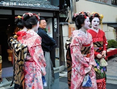 有人问:日本女人和服背后那个包包有什么作用?