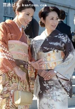 ,与我们中国的旗袍一样,是日本的民族传统服饰.-揭开日本和服的图片
