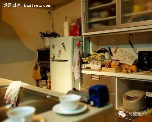 实拍日本人的家庭生活:生活拥挤