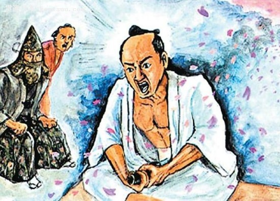 日本武士为何切腹而不自刎?