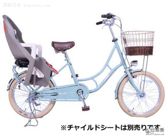 一些电动自行车甚至可以载两个小孩-日本人这么有钱,为何自行车却图片