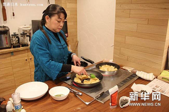 日本高级茶艺师展示中国茶餐魅力(组图)