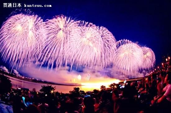 迷人的日本烟火大会 今年又要惊艳天空啦11