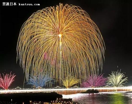 迷人的日本烟火大会 今年又要惊艳天空啦16
