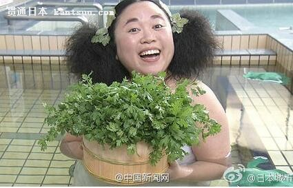 日本现香菜温泉 网友:隔着屏幕都能闻到辣眼的酸爽味道