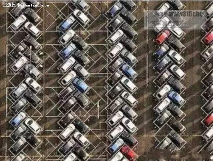 日本人设计的3种停车位,第二种很多人喜欢!