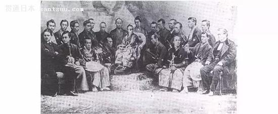1862年伦敦世博会日本代表团
